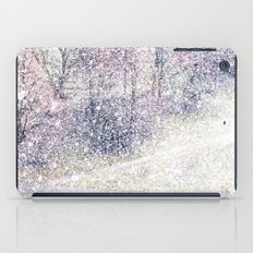 Snow in early fall(2). iPad Case