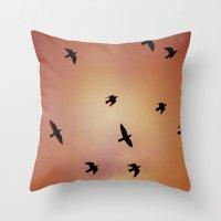 Art Of Flight #2 Throw Pillow