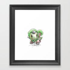 How Terra-fying! Framed Art Print