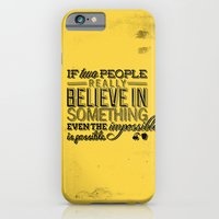 iPhone & iPod Case featuring Impossible is possible by nameisirene