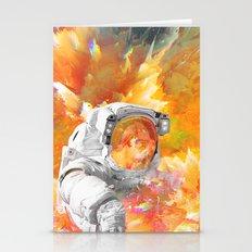 Engulfed Cosmonaut Stationery Cards