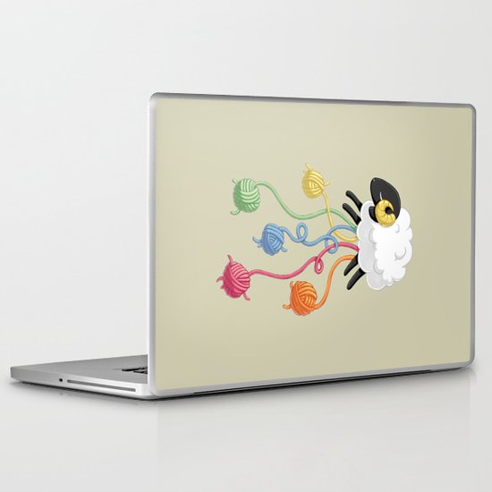 Wool Thread Laptop & iPad Skin