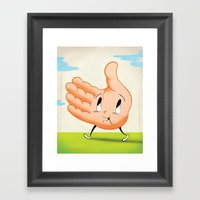 Kindness Framed Art Print