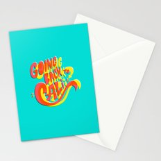 Going Back to Cali Stationery Cards