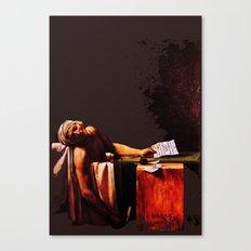 The Death of Marrat Canvas Print