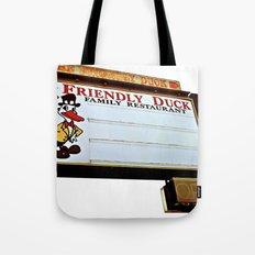 Friendly Duck Tote Bag