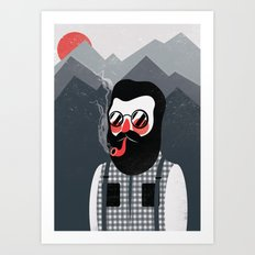Mountaineer Art Print