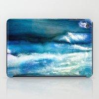 Waves Of Wool iPad Case