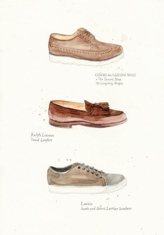 2011 Shoes Art Print
