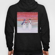 Snowmen With Popsicles Hoody