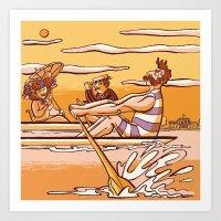 Henley Regatta (March 26… Art Print