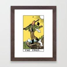 0-The Fool Framed Art Print