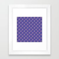 Pattern Fun Framed Art Print