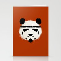 panda Stationery Cards featuring Panda Trooper by The Art of Danny Haas