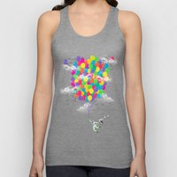Neon Flight Unisex Tank Top