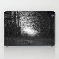 In the deep dark forest... iPad Case