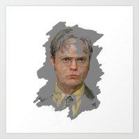 Dwight Schrute, The Office Art Print
