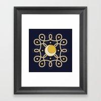 Celestial Convergence  Framed Art Print