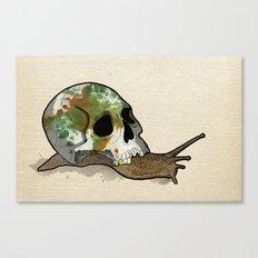 Slow Death Canvas Print