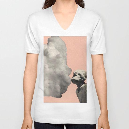 Exhalation V-neck T-shirt
