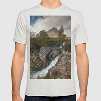 Buachaille Etive Mòr Mens Fitted Tee Silver SMALL
