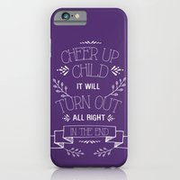 iPhone & iPod Case featuring Beauty and the Beast by Typequotsters