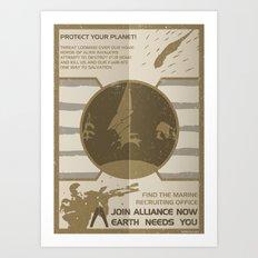 join alliance now Art Print