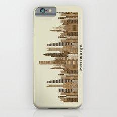Pittsburgh skyline vintage Slim Case iPhone 6s