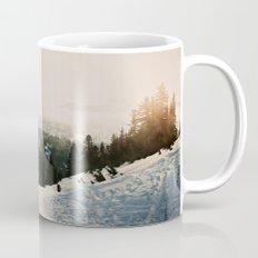 Winter Mountain Hike Mug