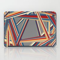 Bars And Stripes iPad Case