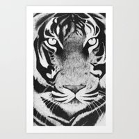 Be a Tiger Art Print