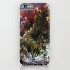 dalgalı deniz iPhone 6 Slim Case