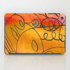 Curves at Sunset iPad Case