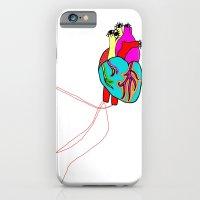 corazón de colores iPhone 6 Slim Case
