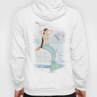 Seaside Mermaid Hoody