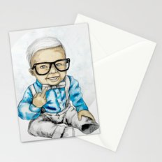 Naughty Boy by carographic Stationery Cards