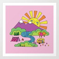 My Happy Place Art Print