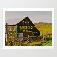 Mail Pouch Barn WV Art Print