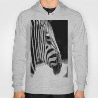 B&w Zebra Hoody