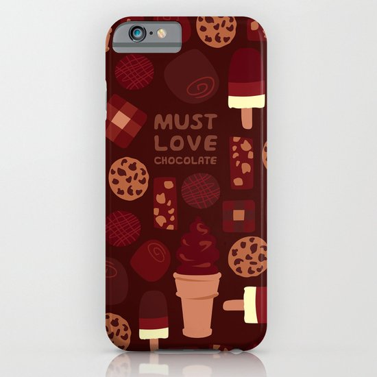 Must Love Chocolate iPhone & iPod Case