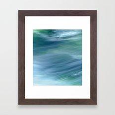 AQUA VITA dyptych, part II Framed Art Print
