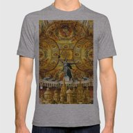 HISTORICAL RUSSIA Mens Fitted Tee Athletic Grey SMALL