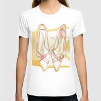 shoes T-shirts featuring Shoes by Sabine Israel