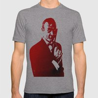 James Bond - Red or Dead Mens Fitted Tee Athletic Grey SMALL