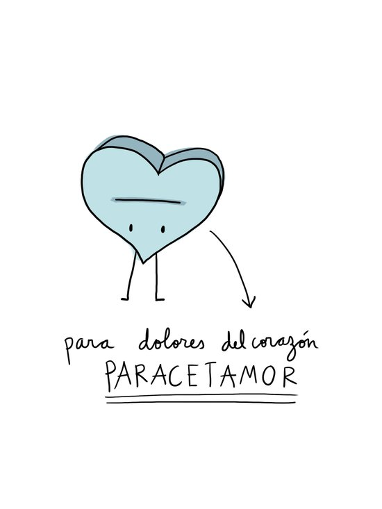 Paracetamor Art Print