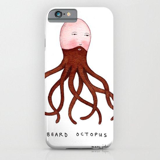 Beard Octopus iPhone & iPod Case