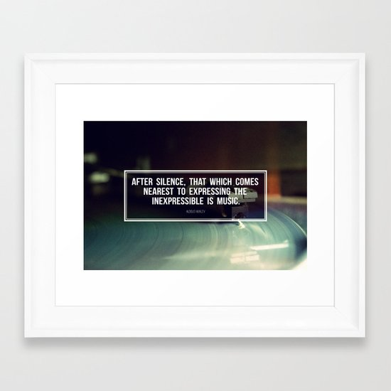 After Silence Framed Art Print