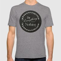 Do Mens Fitted Tee Tri-Grey SMALL