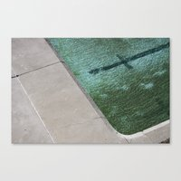 Clovelly Pool Canvas Print