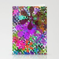 PLAYING WITH COLORS Stationery Cards